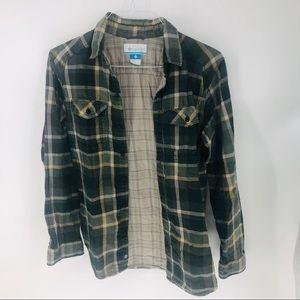 Columbia Sportswear plaid Flannel button down